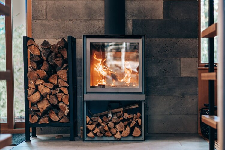 How to clean fire place glass